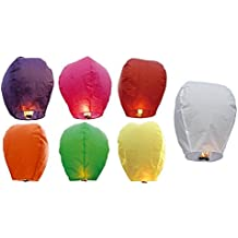 Lamps Of India Paper Sky Lantern (Pack Of 5)