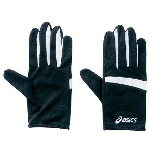 asics(アシックス) 手袋 レーシング グローブ メンズ レディース ブラック×ホワイト XTG147-9001 Mサイズ