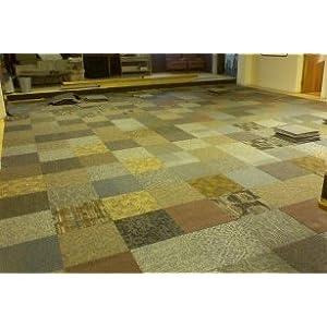 New Carpet Tiles - Commercial Grade Mixed Random Tile -720