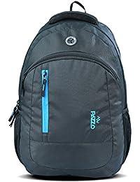 "PAZZO Crooze 30 Litre Lightweight 17"" Laptop Backpack (Black,Blue)"