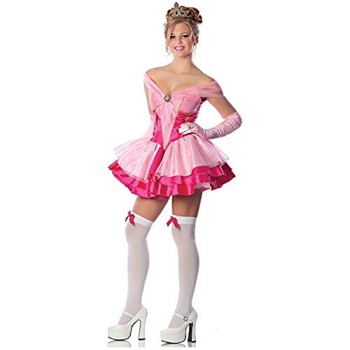 Halloween 2017 Disney Costumes Plus Size & Standard Women's Costume Characters - Women's Costume CharactersSleeping Beauty Costume Adult Sexy Princess Halloween Fancy Dress