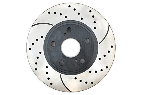 Prime Choice Auto Parts PR41268R Performance Drilled and Slotted Brake Rotor