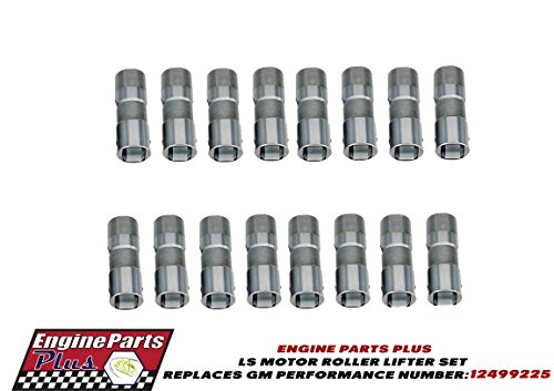 LS HYDRAULIC ROLLER LIFTERS SET OF 16 PART NUMBER: RLR102 REPLACES GM PERFORMANCE PART NUMBER: 12499225