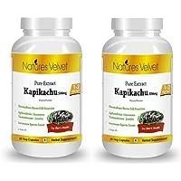 Natures Velvet Combo Of Kapikachu Pure Extract (500 Mg), 60 Veggie Capsule(s)