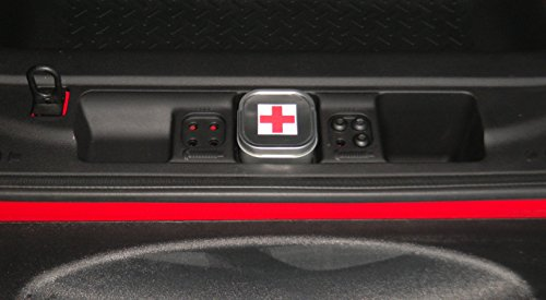Jeep Wrangler JK Rear Cargo Compartment First Aid Kit Accessory fits 2011 to 2016 models