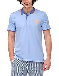 Yepme Men's Polo Cotton T-shirt - B00O32YW8C