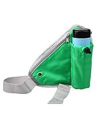 Sports Waist Bag Bottle Holding Bag/Pouch (Green) By Ocean
