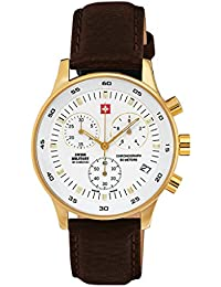Swiss Military By Chrono Analogue White Dial Men's Watch SM30052.05