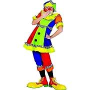 Ladies Spanky Stripes Clown Costume