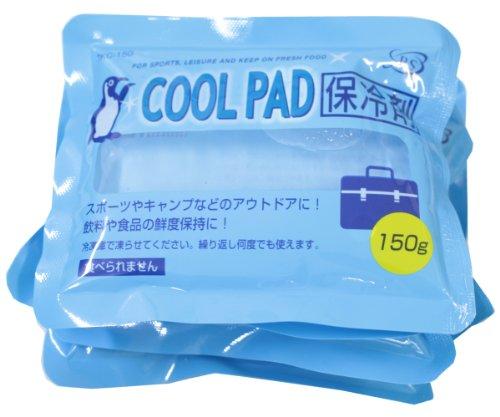 全家協 保冷剤 ソフトタイプ 6個パック 150g