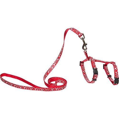nylon reflective dots harness leash