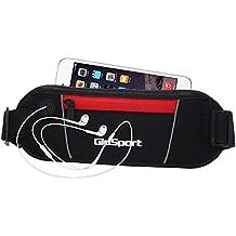 GioSport Running Belt, Waist Pack, Best Sports Belt/Pouch For Runners, Running Bag, Fanny Pack, Travel Money Belt...