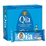 Nature's Path Qi'a Superfood Snack Bar - Blueberry Cashew Pumpkin Seed, 1.34 Oz (Pack Of 12)