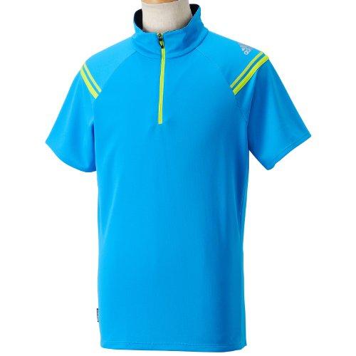(アディダス)adidas CLX BCハーフジップSSTシャツ DDJ43 F88919 ソーラーブルー S14 J/M
