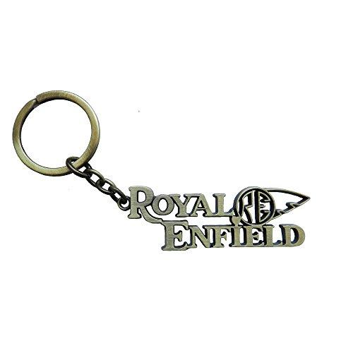 Techpro Premium Quality Metal Keychain With Royal Enfield Design - B01J468TF8