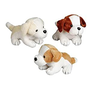 Amazon.com: Bulk Pack of 12 Small Plush Dogs (6-inch