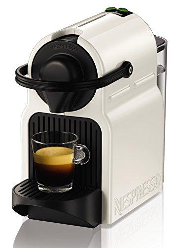 Krups Inissia - Cafetera Nespresso, color blanco., 16 capsulas
