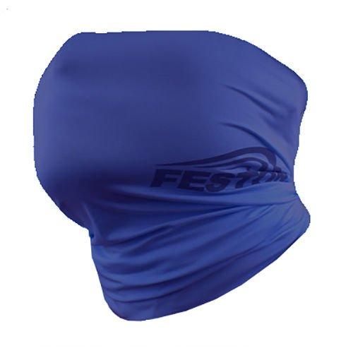 FESTON Cool UV Sun Protection Blue Mask Neck Headband Banada Bike Cycling Korea