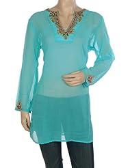 Rajrang Party Wear Kurta Womens CLothing Top Ladies CasuaL Wear Tunic Size XXL