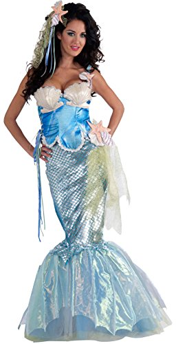 Women's Deluxe Adult Mermaid