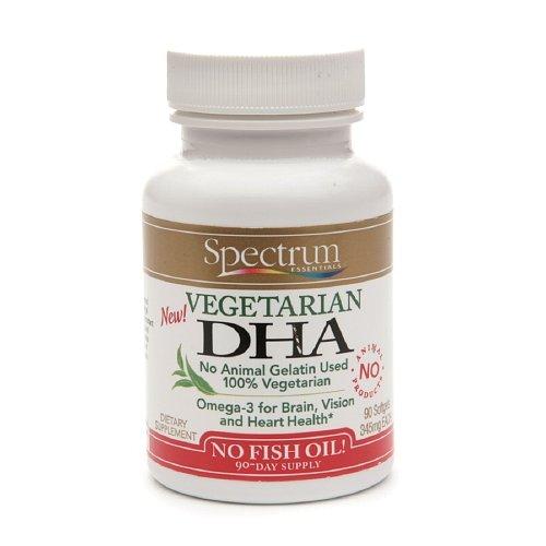 Spectrum Essentials Vegetarian DHA - 90 Softgels Pack of - 4