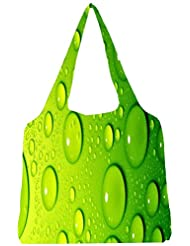 Snoogg Drops On Phone Womens Jhola Shape Tote Bag