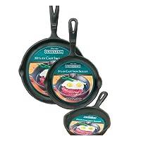 Universal Housewares 3 pc. skillet set
