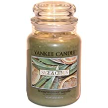 Yankee Candle Company Sage & Citrus Large Jar Candle By Yankee Candle