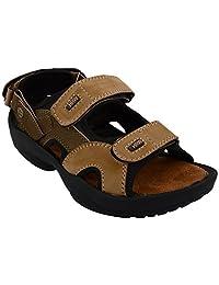 Rick Rock Men's Tan Synthetic Sandals