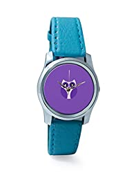 PosterGuy Purple Cute Little Owl Bird Cartoon Analog Women's Wrist Watch-2238304536-RS2-S-TEA