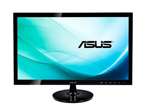 Asus 24 VS248H D-Sub+DVI+HDMI LED FullHD black, 90LME3101Q00041C (FullHD black)