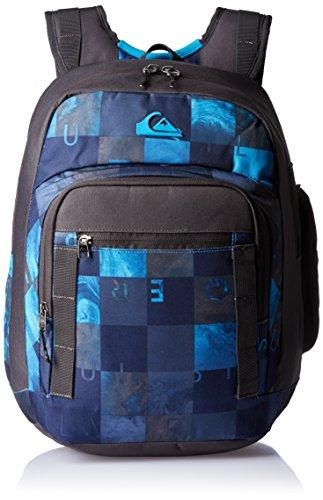 Quiksilver Schoolie - Mochila para hombre, color azul marino / negro, talla única, 26 litros