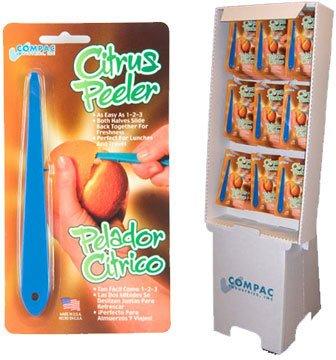 Compac Citrus Peeler Floor Display - Case of 72
