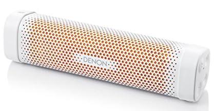 Denonポータブル Bluetoothスピーカー Envaya Mini [ ホワイト&オレンジ ] DSB-100