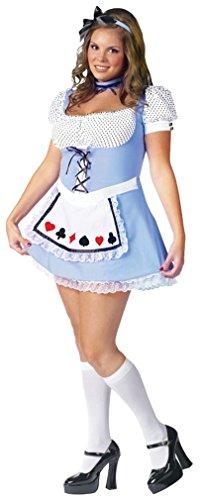 Halloween 2017 Disney Costumes Plus Size & Standard Women's Costume Characters - Women's Costume CharactersAlice Adult Costume Size Plus-size