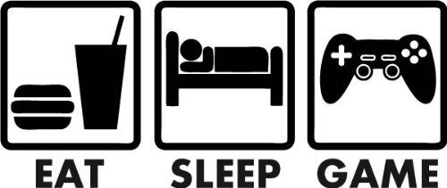 Eat,Sleep,Game: Affiche ton côté Gamer