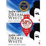Kojie San Dream White Kojic Lightening Anti Aging Soap (2x135g Bars)