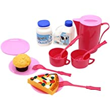 Little Treasures Cooking Kitchen For Kids 3+ Enjoy Cooking Creativity With This Toy Set Including 4 Plates, Spoons...