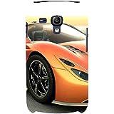 For Samsung Galaxy S3 Mini I8190 :: Samsung I8190 Galaxy S III Mini :: Samsung I8190N Galaxy S III Mini Beautiful Car ( Beautiful Car, Yellow Car, 3d Car, Super Car, Nice Car, Car ) Printed Designer Back Case Cover By FashionCops