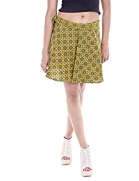 Indi Bargain Cambric Cotton Wrap Around Short Length Skirt (461)