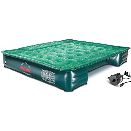 AirBedz Lite (PPI PV203C) Mid-Size 6′-6.5′ Short Truck Bed Air Mattress (72″ x 55″ x 12″ Inflated)