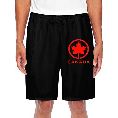 Trump and Clinton Halloween Costumes - Choose Edgy or Funny - DANSHEN Men's Canada Maple Shorts Sweatpants