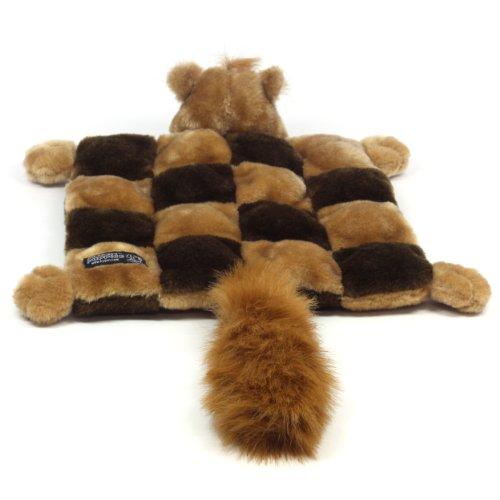 Kyjen PP01379 Squeaker Mat Squirrel 16-Squeaker Plush