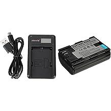Alcoa Prime LP-E6 Camera Battery + Battery Charger For Canon Mark II 5D Mark III 6D 7D 60D 60Da 70D 5DS R EOS...