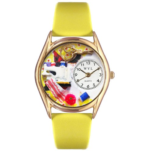 Sewing Watch Small Gold Style