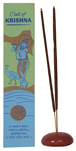 Cottage Industries Call Of Krishna Incense Sticks ( 50 Gms) - Pack Of 4