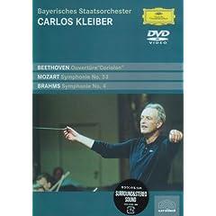 DVD クライバー指揮 ブラームス:交響曲第4番ホ短調作品98他の商品写真