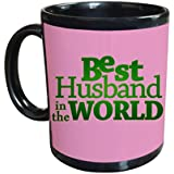 Best Husband In The World Black Coffee Mug A Best Gift For Your Loving Husband