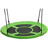 "Tree Swing Giant 40"" Saucer Swing, Green - Swing With Friends, Children's Swing, Easy Installation"