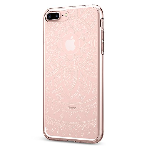 Coque iPhone 7 plus, Spigen® [Liquid Crystal] Ultra-Thin [Shine Clear] Premium Semi-transparent / Exact Fit / NO Bulkiness Soft Housse Etui Coque Pour...